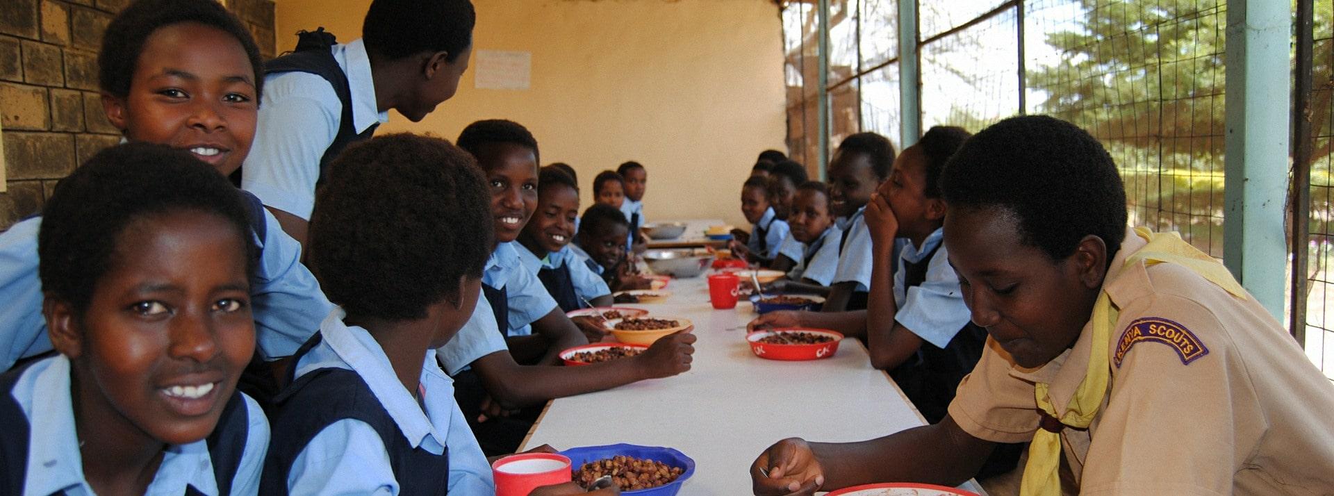 We support education for children in Kenya