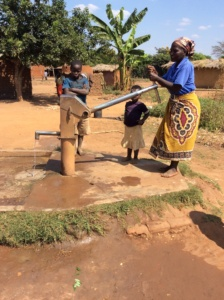 Bore hole no more walking for water
